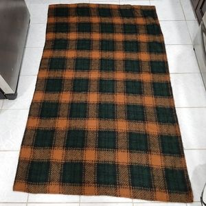 Throw blanket 41 by 67 inches approximately